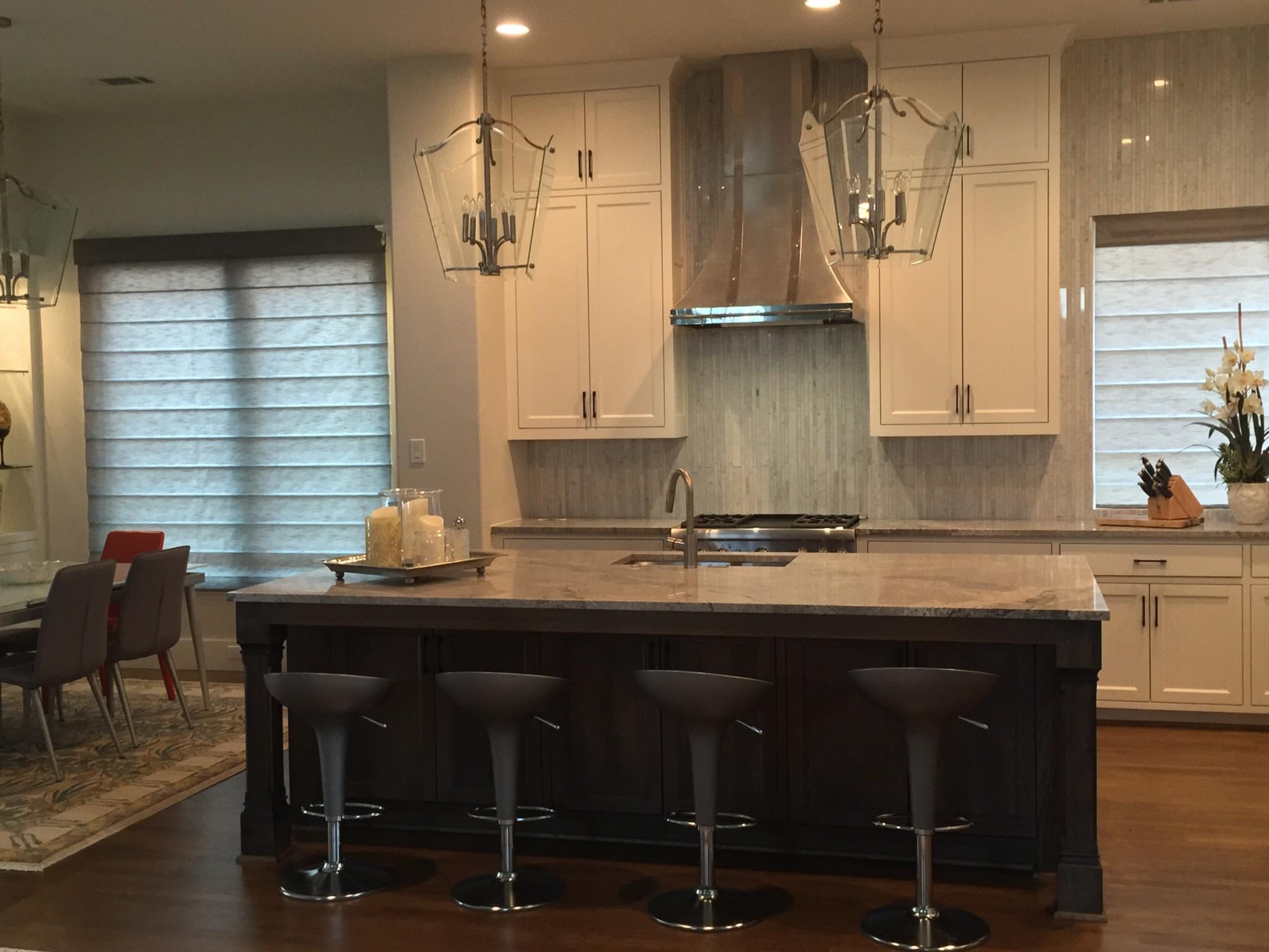 Modern Kitchen Mosaic modern-kitchen-bar-stone-mosaic-backsplash – palmer davis design, llc